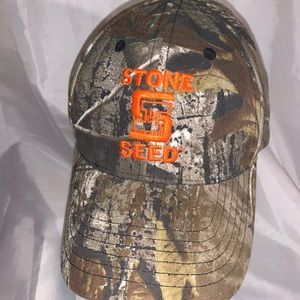 CAMO STONE SEED HAT